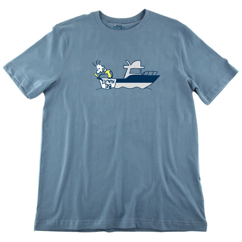 Mens Be Nauti Ultra Soft Tee Shirt