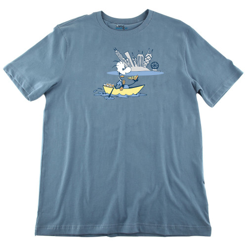 Mens Chicago Boating Ultra Soft Tee Shirt