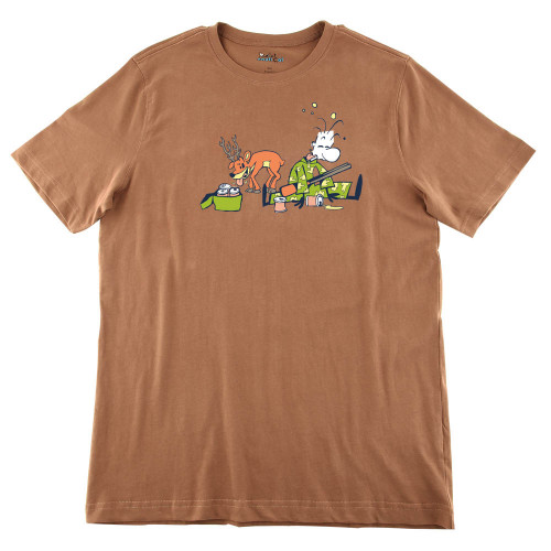 Mens Drunk Hunter Ultra Soft Tee Shirt