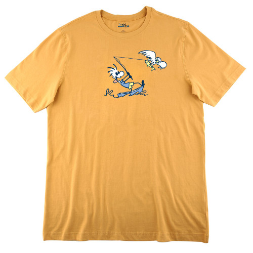 Mens Fish Eagle Ultra Soft Tee Shirt