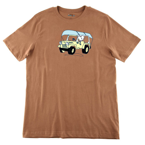 Mens Going Canoeing Ultra Soft Tee Shirt