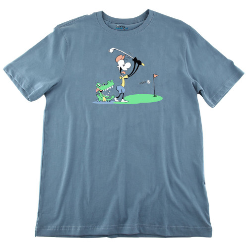 Mens Golf Ultra Soft Tee Shirt