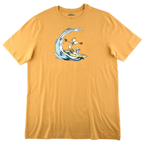 Mens Surfing Ultra Soft Tee Shirt