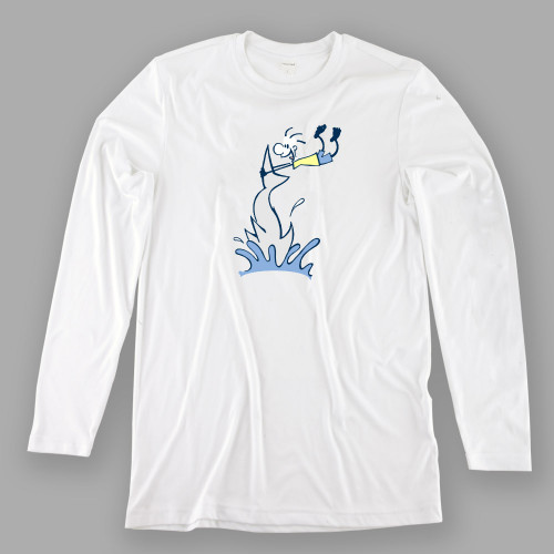 Mens Shark Tailing Performance Shirt