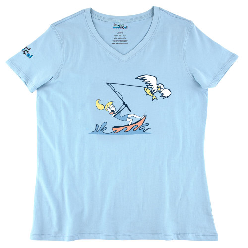 Womens Fish Eagle Ultra Soft Tee Shirt