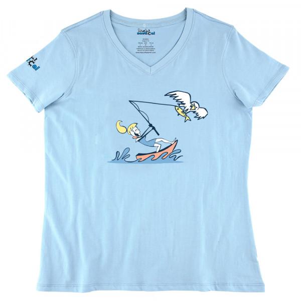 Womens fish eagle ultra soft tee shirt for Womens fishing shirt