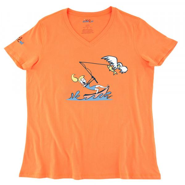 Womens fish eagle ultra soft tee shirt for Womens fishing shirts
