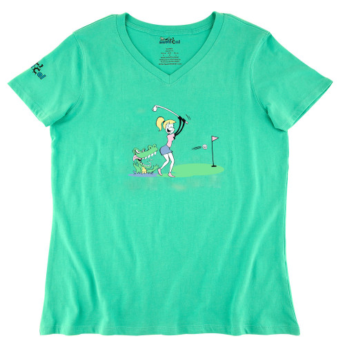 Womens Golf Florida Ultra Soft Tee Shirt