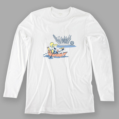 Womens Chicago Boating Performance Shirt