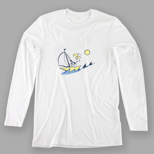 Womens Scared Sailor Performance Shirt